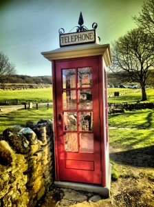 Tyneham telephone box