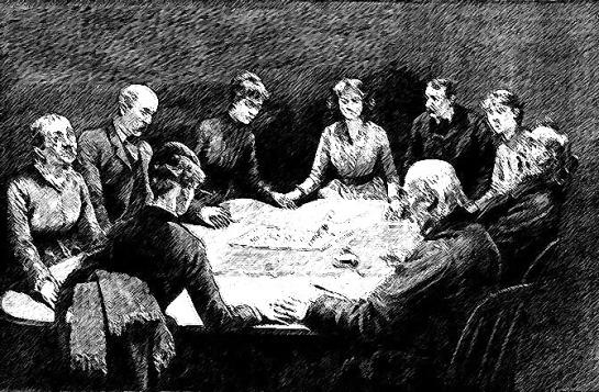 A Victorian seance